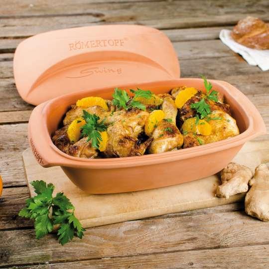 Der RÖMERTOPF® Swing mit Curryhänchen