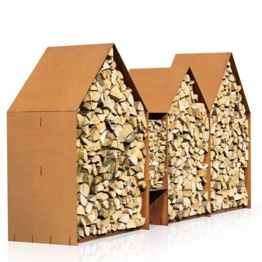 RB73 Holzlager Bruges, Seitenansicht