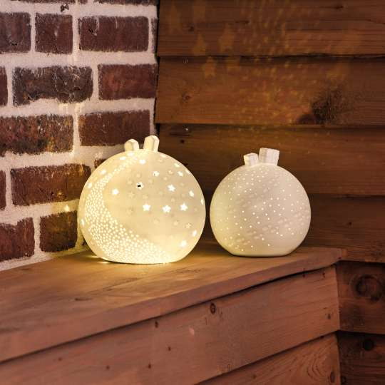 Porzellangeschichten. Lichtkugeln. von Raeder