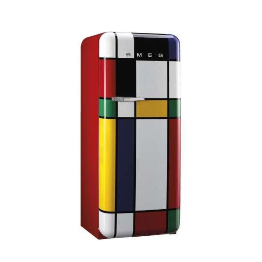 Smeg Kühlschrank Multicolor - FAB28RDMC