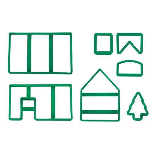 954220 - Ausstechformen-Set Lebkuchen-/Hexenhaus von STAEDTER