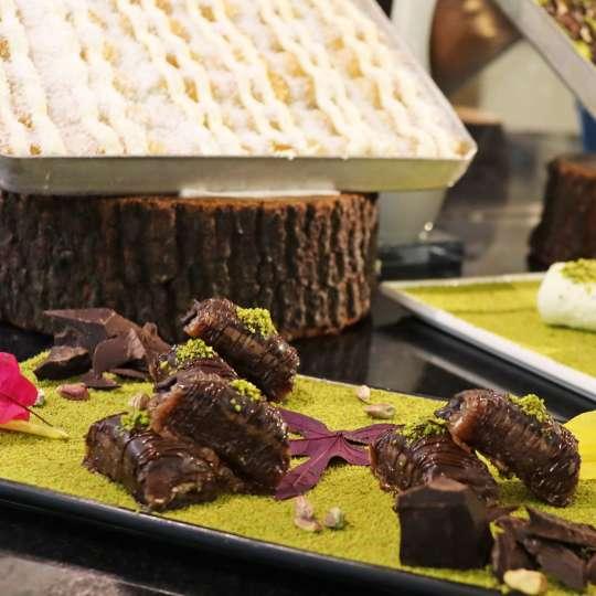 Dessert: Schokoladen-Baklava