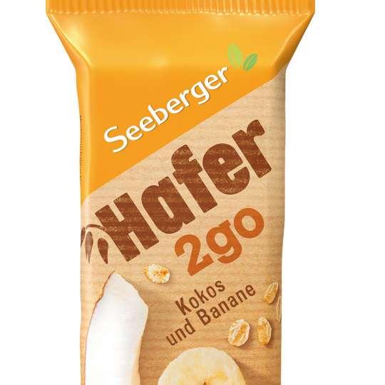 Seeberger: Hafer2go / Riegel Kokos/Banane