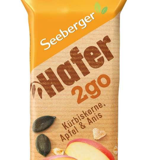 Seeberger: Hafer2go / Riegel Kürbiskerne/Apfel