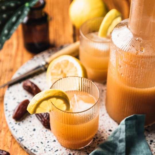 Intervallfasten mit Seeberger / Dattel-Limonade 3