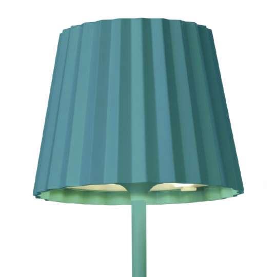 Sompex - Outdoor Tischleuchte TROLL blau - 78175