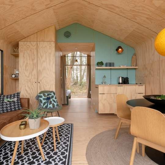 Durch die modulare Bauweise können Größe, Anordnung und Ausstattung der Wikkelhäuser den individuellen Vorstellungen angepasst werden