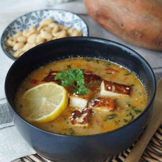 Sweet Potato Peanut Soup
