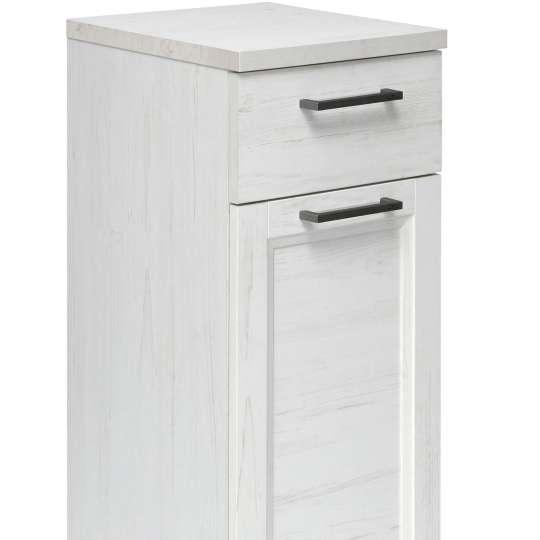 TOM TAILOR Hamptons White Pine Unterschrank mit Tür und Schublade