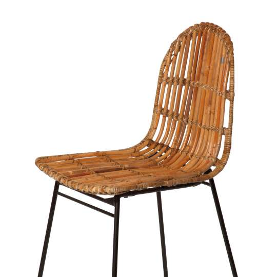 TOM TAILOR - Dining Nature & Mint - Rattan Chair