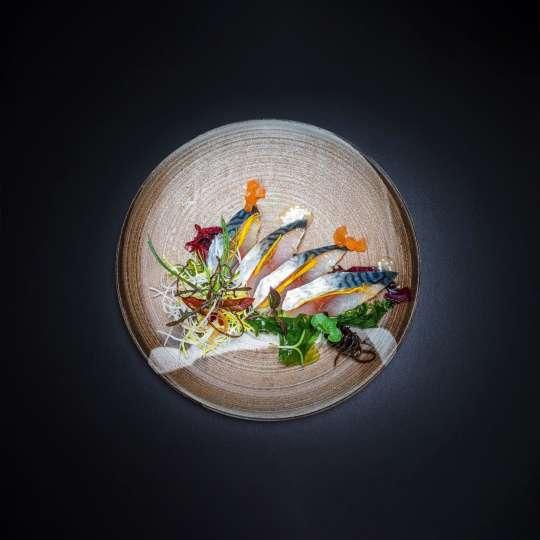 Japanische Kochkunst Gericht 1