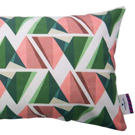 Tom Tailor Home Modern Graphics Kissenhülle grün/koralle