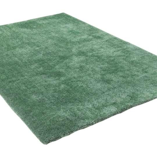 Tom Tailor Home Soft Uni Hochflorteppich light green