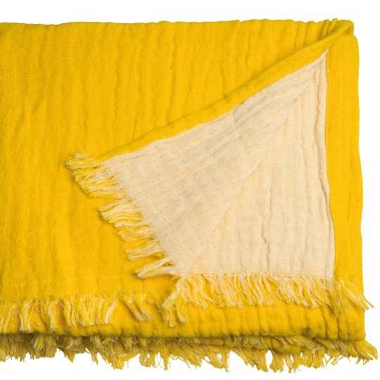 564992 - T-FRINGED COTTON Decke von Tom Tailor