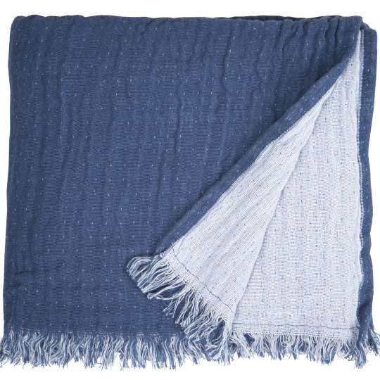 564994 - T-FRINGED COTTON Decke von Tom Tailor