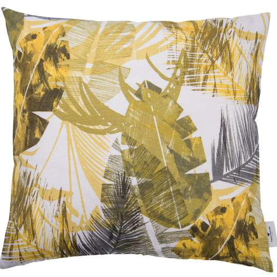 565001 - T-Yellow Jungle Kissenhülle von Tom Tailor