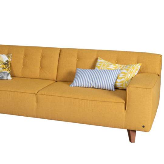 NORDIC CHIC Sofa in pastel yellow von Tom Tailor