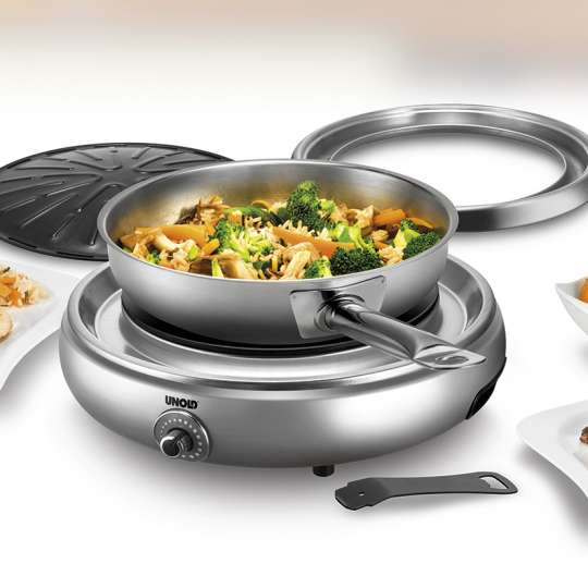 Unold Asia-Grill silver - Milieu 3