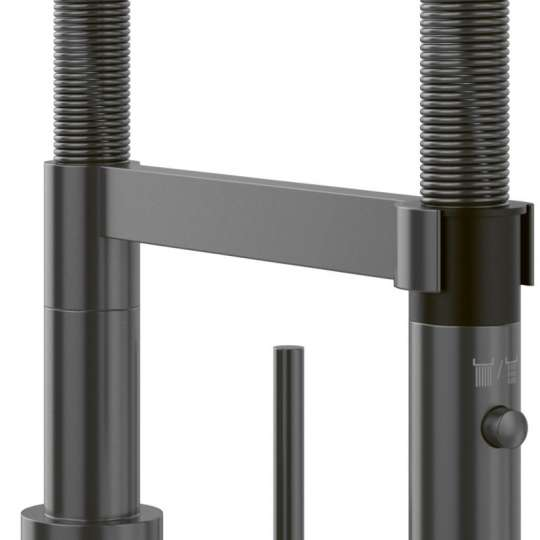 Villeroy & Boch Steel Expert 2.0 Armatur Anthracite FS