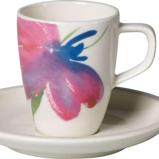 Artesano Flower Art: Kaffeetasse 2tlg. - Art.-Nr. 1042511410