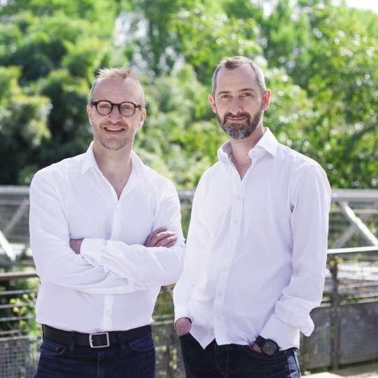 Akinod: Firmengründer Luc Foin und Stéphane Lebeau