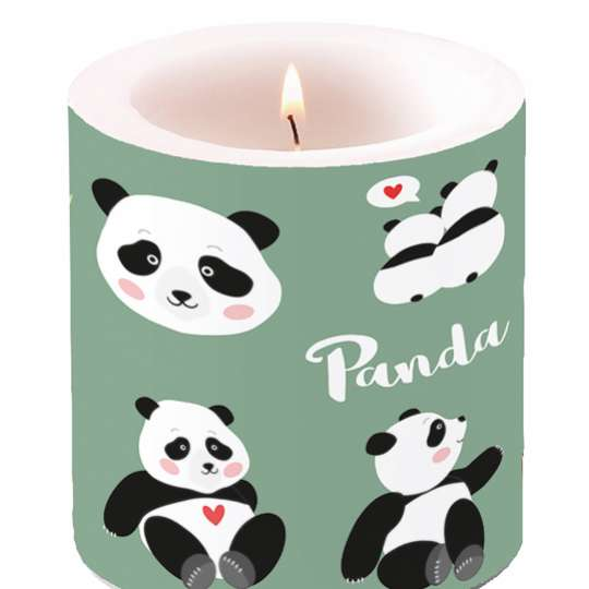 Ambiente: Pandabären Kerze, 19213375, klein