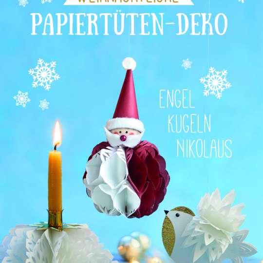 Bastel-Buch-Papiertüten für Weihnachten