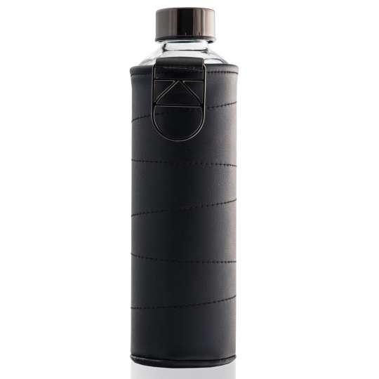 Bunt, edel und umweltfreundlich: Equa Trinkflaschen / Kollektion Mismatch / Kunstlederhuelle