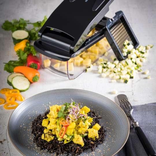 GEFU - Blumenkohl-Kartoffel-Curry mit Wildreis / hoch
