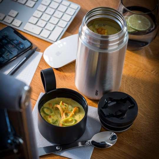 GEFU - Zitronengras-Curry-Suppe mit Gemüse und Garnelenstücken / hoch