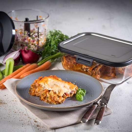 GEFU - Zucchini-Lasagne (low carb) / quer