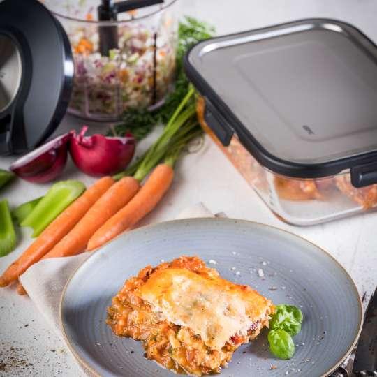 GEFU - Zucchini-Lasagne (low carb) / hoch