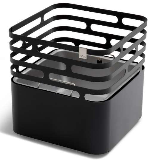 Cube von höfats - Feuerkorb, schwarz