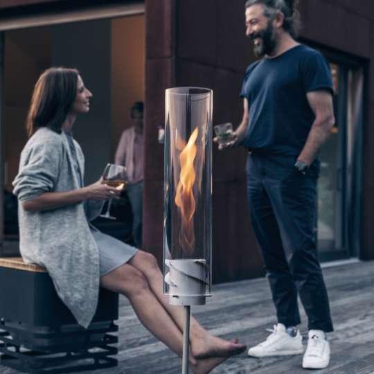 Feuer und Flamme  - Spin von höfats - Mood Mann, Frau im Gespräch