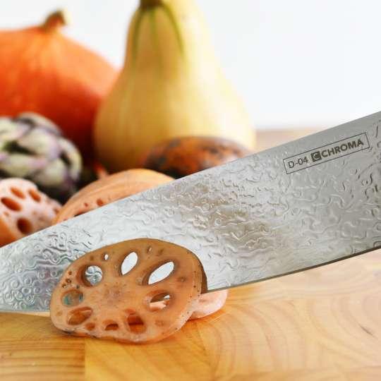 Küchenmesser DORIMU mit echter Damaszenerklinge