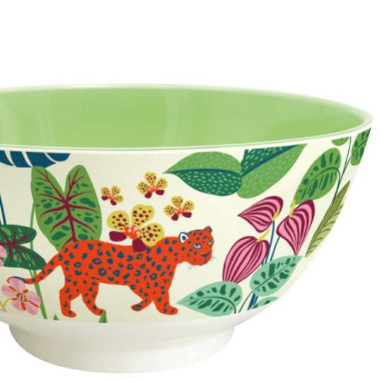 Mila: Kollektion Ginger / Thema 'Wildlife' - Melamin Schale 30604