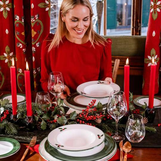Weihnachten 2021 - Klassisch in Rubinrot