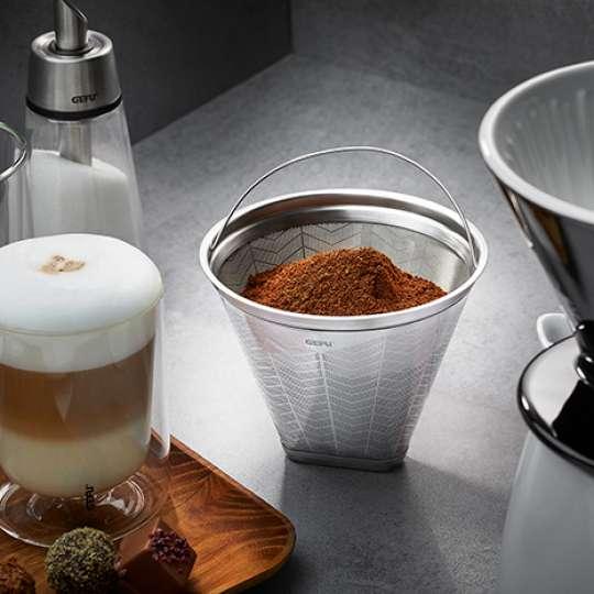 Wegwerfen ist out: Dauerfilter FLAVO von GEFU für Kaffee-Lover