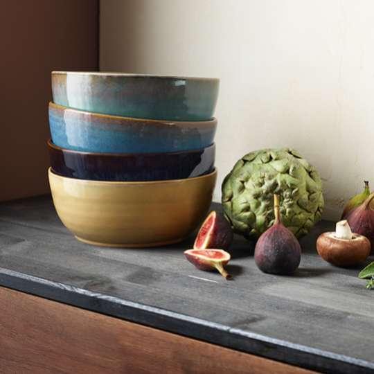 Poké Bowls verschiedene Farben