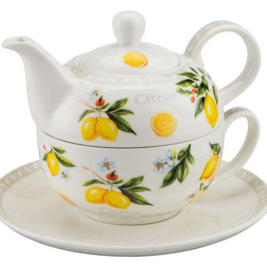 """Gelb, frisch, dekorativ: Tafelaccessoires """"Citrus"""""""
