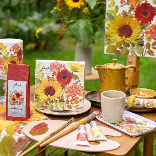 Sunny Flowers: Ein Sonnenblumendekor von Ambiente Europe B.V.