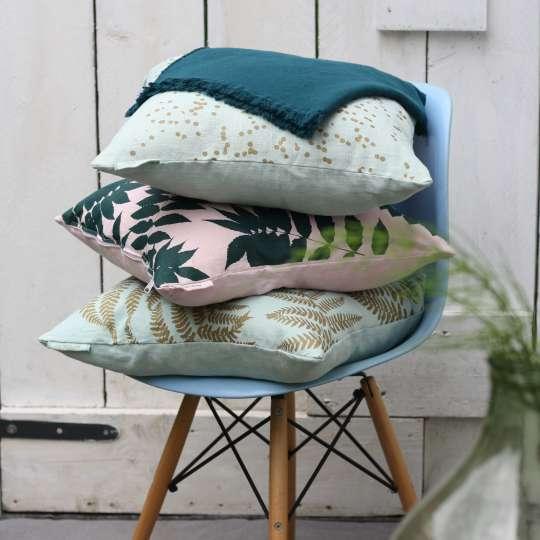 Frohstoff Kissen und Decken Stapel Mood