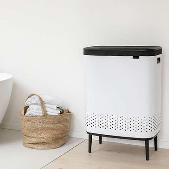 Brabantia BO: Dekorative 60 Liter und 2x45 Liter Wäscheboxen