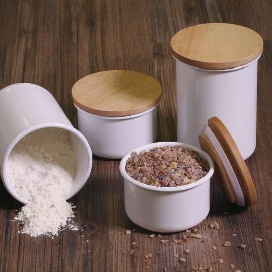 Honey Ware Vorratsbehälter aus Emaille