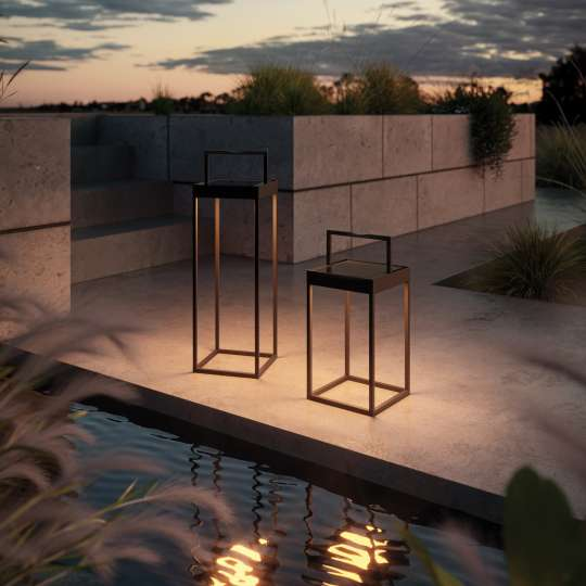 Cannes - LED Outdoor Akku-Laterne