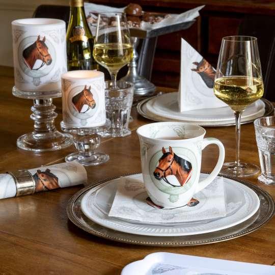 Die ultimative Tischdekoration für Pferdefreunde -