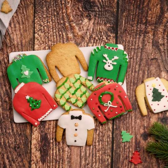 Dr. Oetker Ausstecher Ugly Christmas Sweater