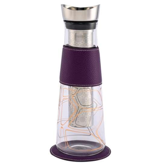 Eigenart: Karaffe EVE Dekor Copper –  Kupferschimmer für den Tisch