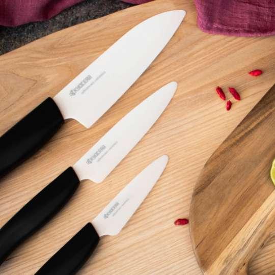 KYOCERA - BIO Series - extrem scharfe Keramikmesser mit Bio-Griff