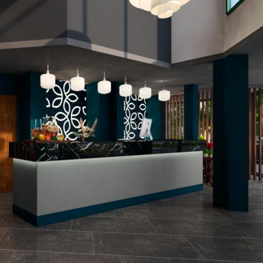 HEILIGHT HOTEL CONCEPTS - Neugestaltung Rezeption